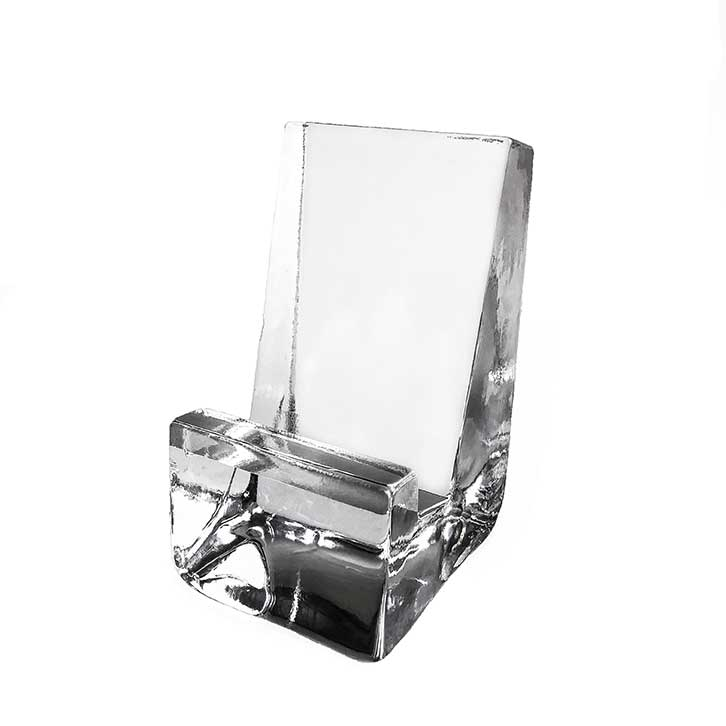 Glass Phone Holder