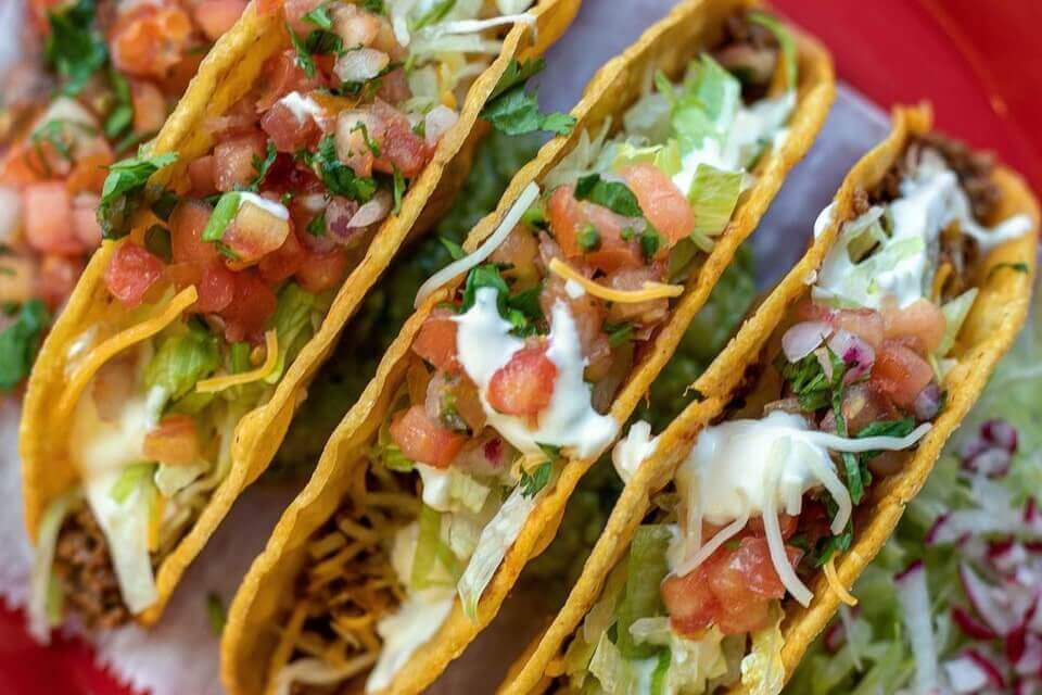 Tacos from Chilacates