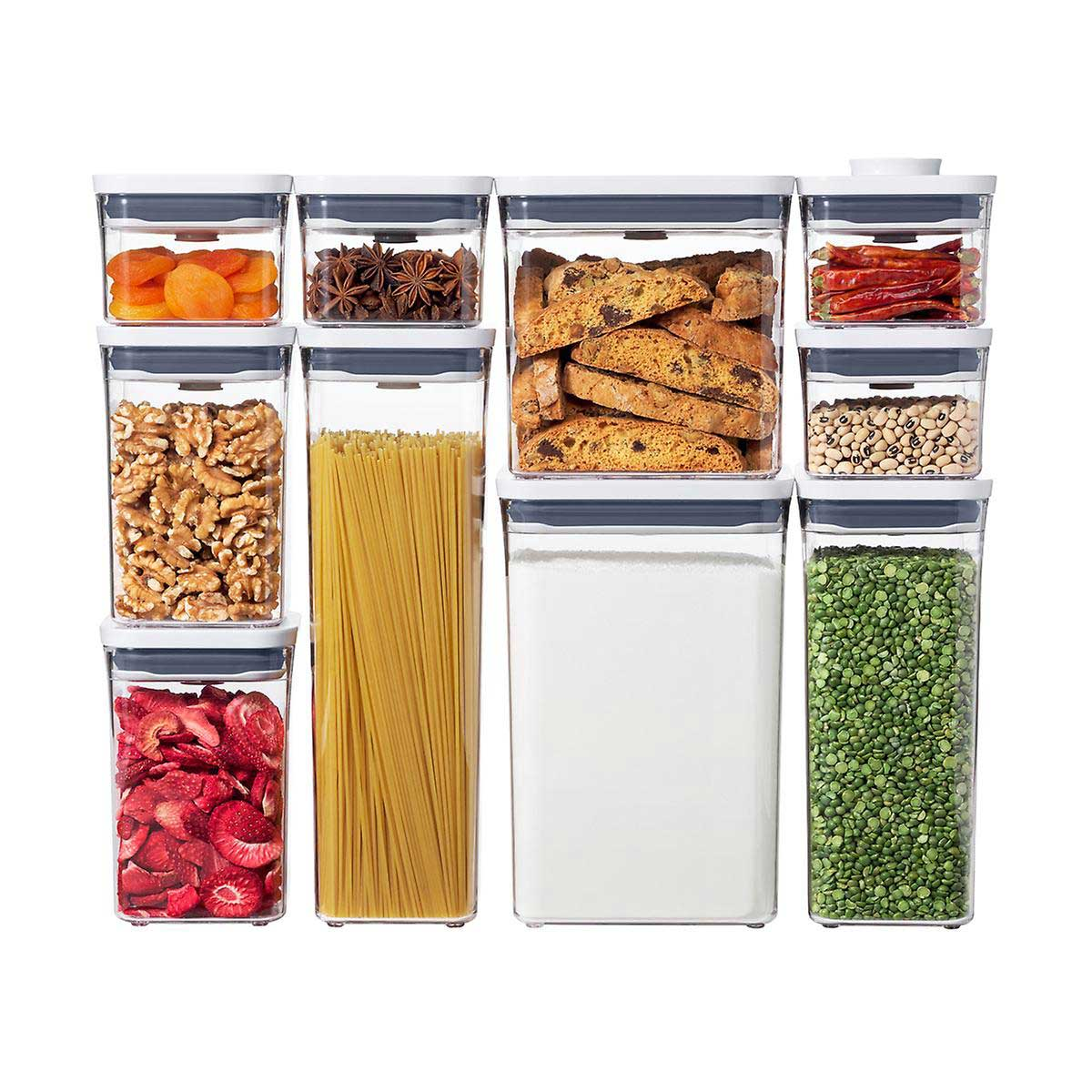 OXO Good Grips POP 10-Piece Storage Containers