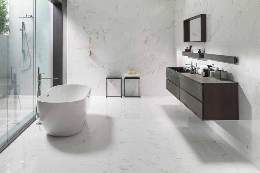 Modern Bathroom from Porcelanosa