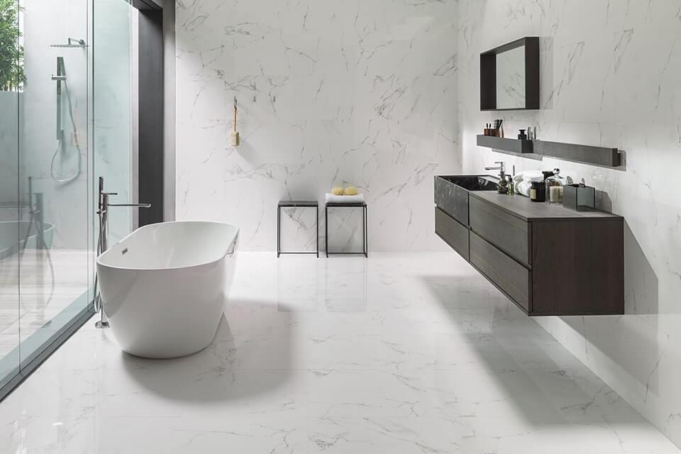 Modern Bathroom from Porcelanosa