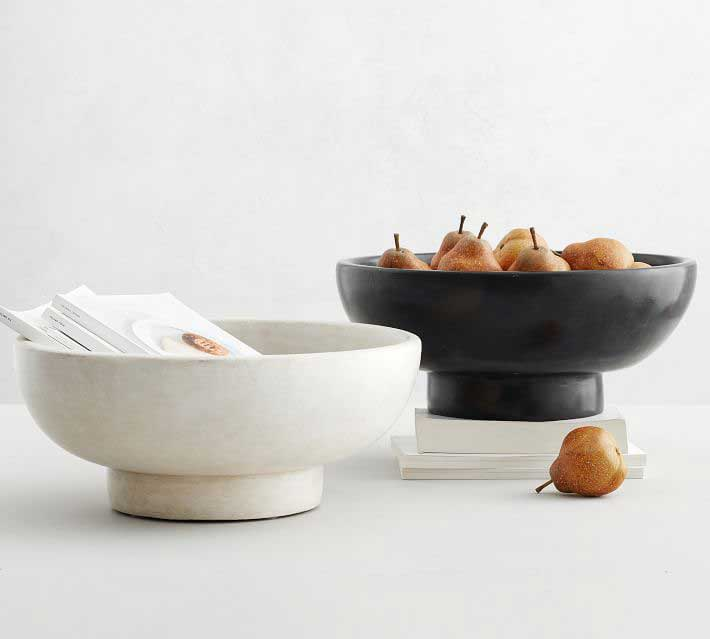 Terra Cotta Bowls from Pottery Barn