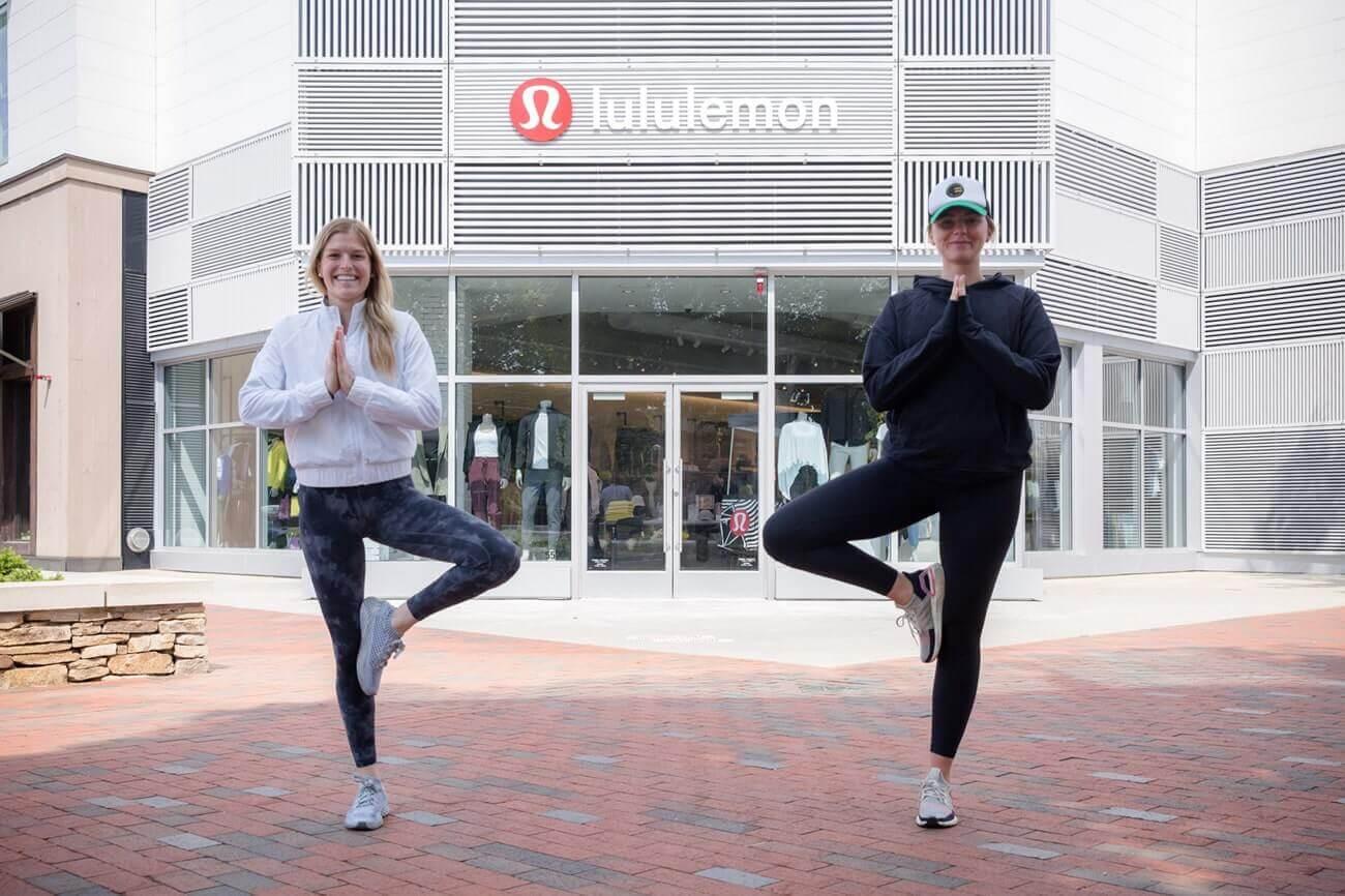 Image of Katherine Murphy, store manager at Lululemon